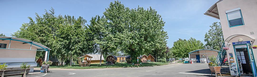 Camping Tournus accueil
