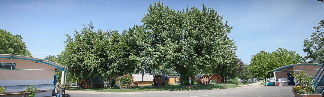 Camping Tournus emplacements