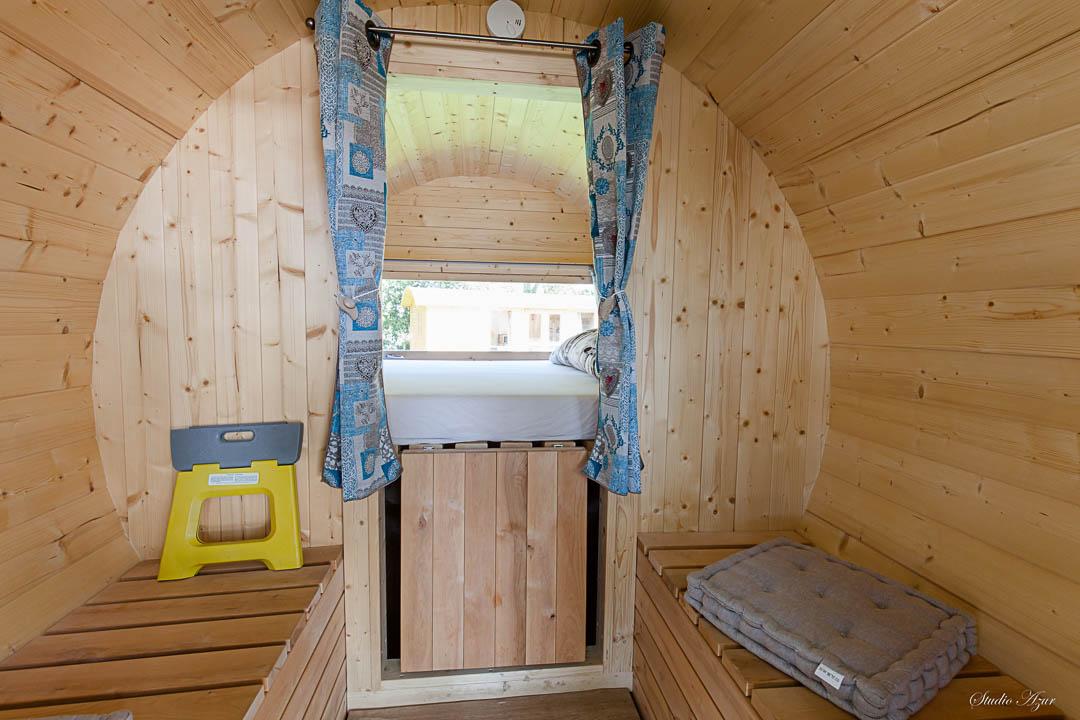 Camping Tournus tonneau 2 pers